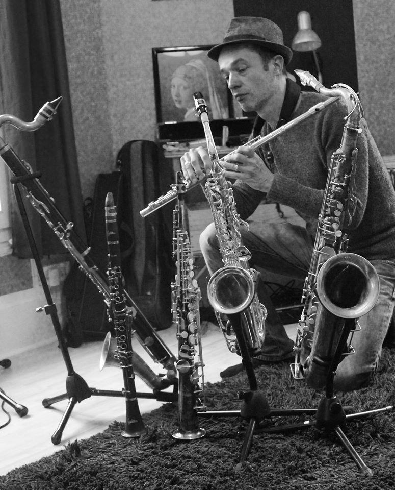 Saxs, flûte, clarinettes...